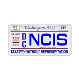 NCIS: License Aluminum License Plate