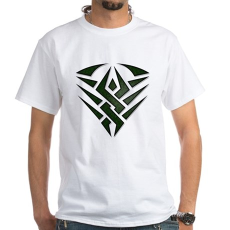 Tribal Badge White T-Shirt