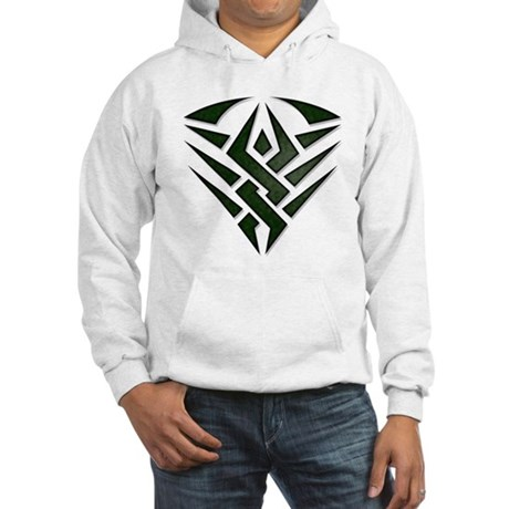 Tribal Badge Hooded Sweatshirt