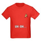 Star Trek Kid's Red Shirt: Uh-Oh!