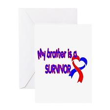 Brother CHD Survivor Greeting Card