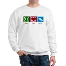 Peace Love Surfing Sweatshirt
