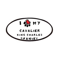 I *heart* My Cavalier Patches