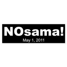 NOsama Bumper Sticker