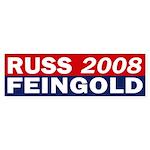 Russ Feingold 2008 bumper sticker