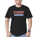 Candy Mountain Men's Fitted T-Shirt (dark)