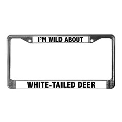 White-Tailed Deer License Plate Frame