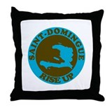Saint-Domingue Throw Pillow