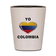 YO AMO COLOMBIA Shot Glass