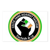 Celtic Fans Against Fascism Postcards (Package of
