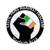 "Celtic Fans Against Fascism 3.5"" Button (100 pack)"