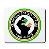 Celtic Fans Against Fascism Mousepad