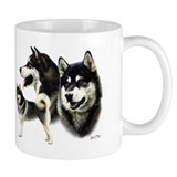 Alaskan Malamute Small Mugs