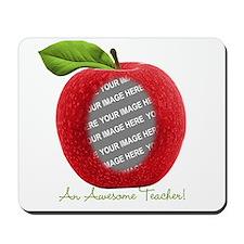 Teacher's Apple Custom Photo Mousepad