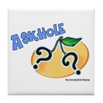 Askhole Tile Coaster