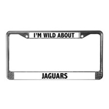 Jaguar License Plate Frame
