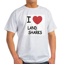 I heart land sharks T-Shirt