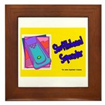 Shuffleboard Superstar Framed Tile