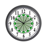 Eclectic Flower 368 Wall Clock
