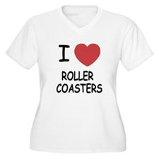 I heart roller coasters T-Shirt