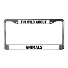 Animal License Plate Frames