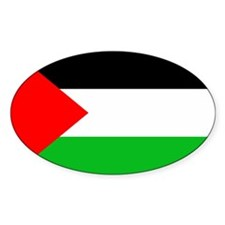 Palestine - Oval Decal