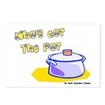 Who's Got The Pot 06 Postcards (Package of 8)