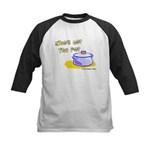Who's Got The Pot 06 Kids Baseball Jersey