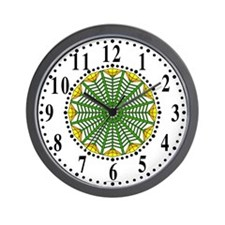 Eclectic Flower 425 Wall Clock
