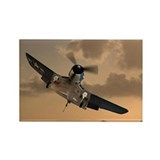 F4U Composite Rectangle Magnet (10 pack)