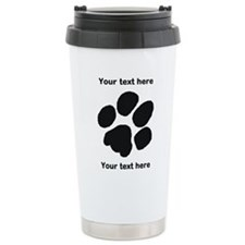 Pawprint - Customisable Travel Mug