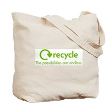 Cute Recycled Tote Bag