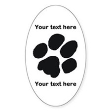 Pawprint - Customisable Decal