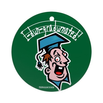 Hilarious Graduation Gift Ornament (Round)