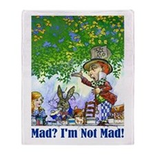 MAD? I'M NOT MAD! Throw Blanket