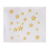 GOLD STARS Throw Blanket