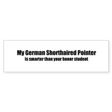 My German Shorthaired Pointer Bumper Bumper Sticker