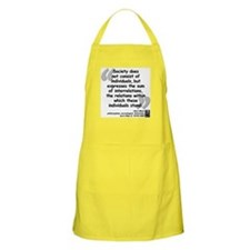 Marx Relations Quote Apron