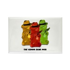Gummi Bear Mob Rectangle Magnet