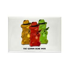 Gummi Bear Mob Rectangle Magnet