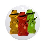 Gummi Bear Mob Ornament (Round)