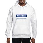 Facadebook Hooded Sweatshirt
