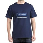 Facadebook Dark T-Shirt