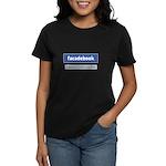 Facadebook Women's Dark T-Shirt