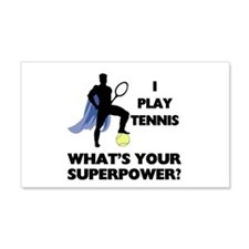 Tennis Superpower 22x14 Wall Peel