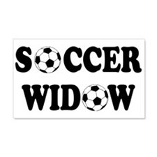 Soccer Widow 22x14 Wall Peel