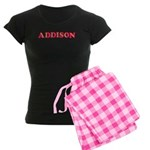 Addison Women's Dark Pajamas
