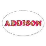 Addison Sticker (Oval 50 pk)