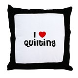 I * Quilting Throw Pillow