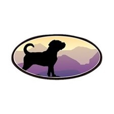 Purple Mountains Puggle Patches